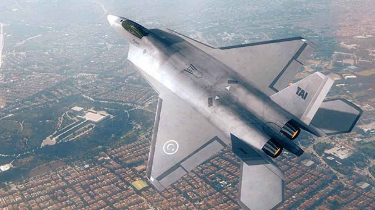 Milli Uçak Rüzgar Tünelinde