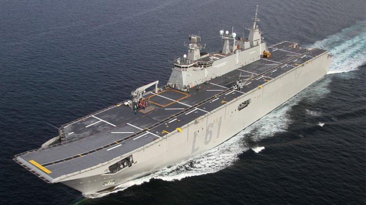 TCG Anadolu Gemisi 2020'de Denize Açılacak