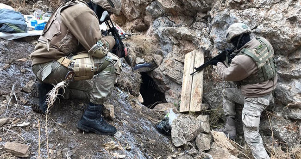 PKK'nın 194 Sığınağı İmha Edildi