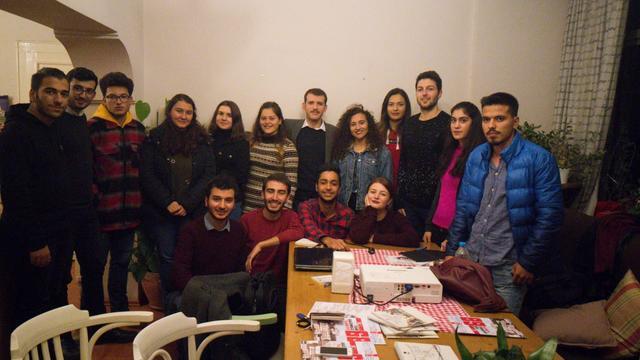 TGB Aydın'dan Türk Gençliğinin Vazifeleri söyleşisi