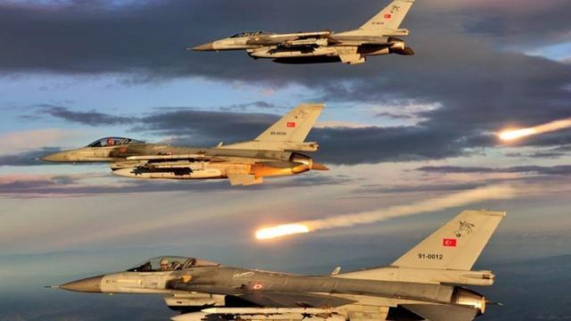 Sincar'da PKK Hedefleri Vuruldu