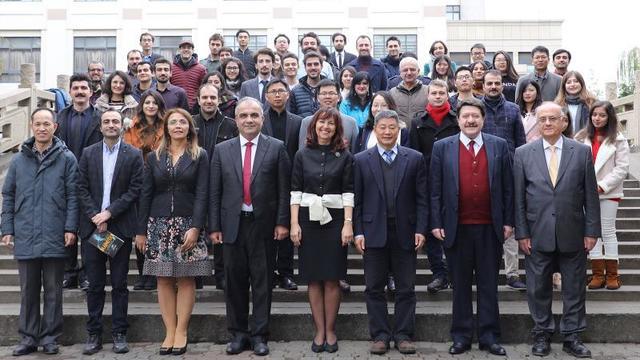 Şanghay Üniversitesi'nde Atatürk Rotası Konuşuldu