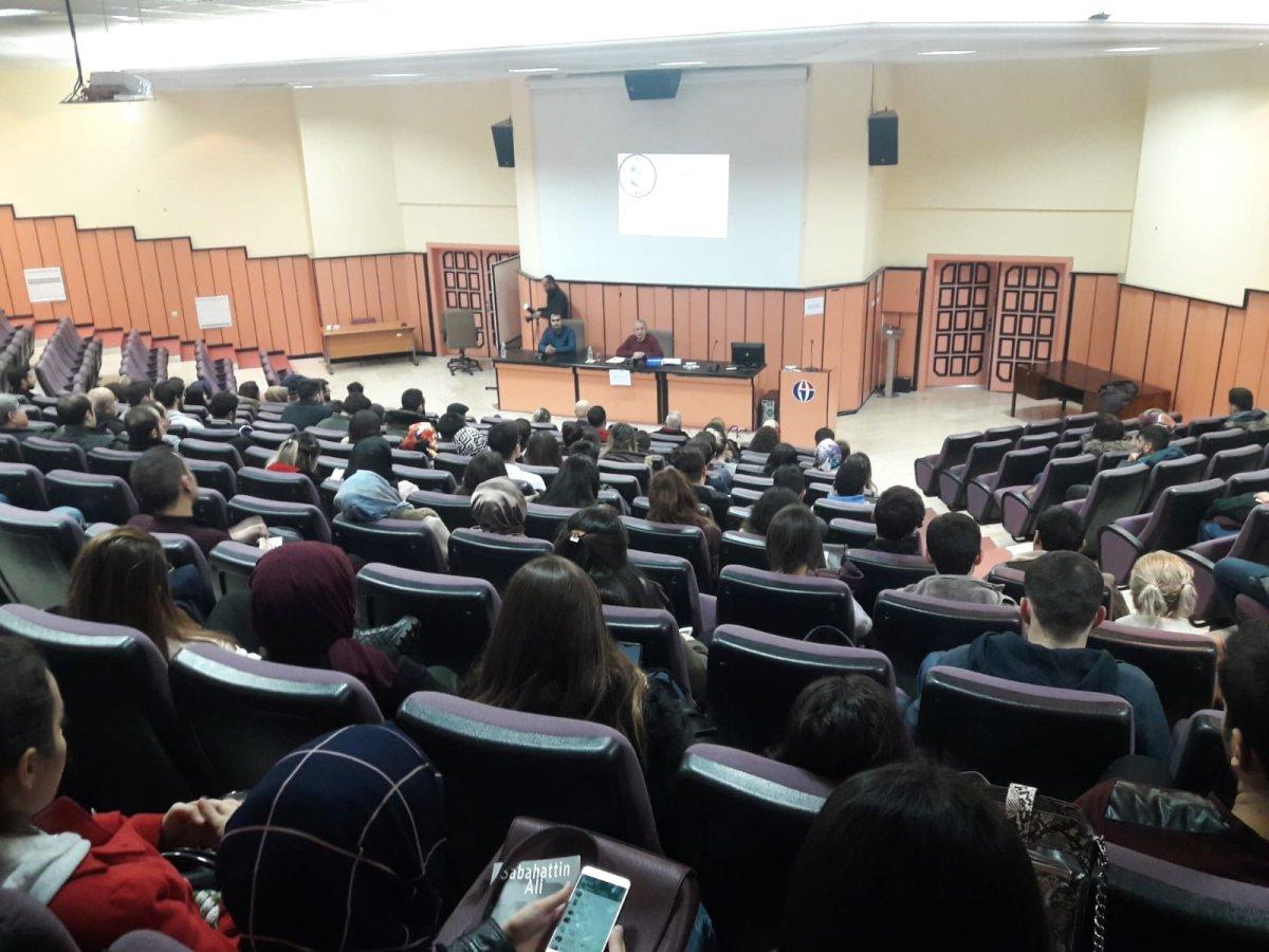 Yıldırım Koç Gaziantep Üniversitesi Öğrencileri ile Buluştu