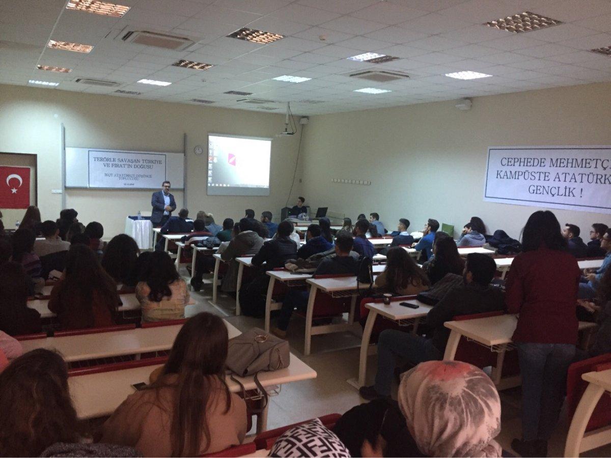 Katip Çelebi Üniversitesi ADT Terörle Mücadele ve Fırat'ın Doğusunu Konuştu