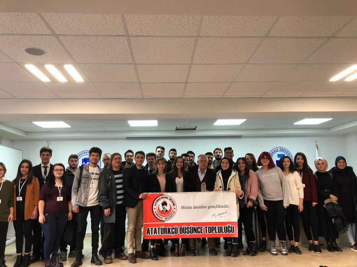 Pamukkale Üniversitesi ADT Cüneyt Akalın'la 21. Yüzyılda Atatürk Olmayı Konuştu