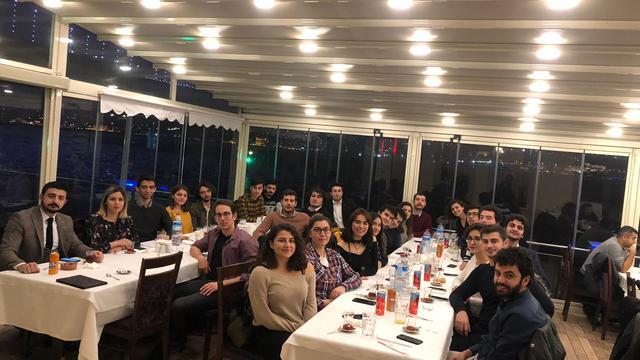 İstanbul'un Atatürkçü Düşünce Kulüpleri Dayanışma Yemeğinde Buluştu