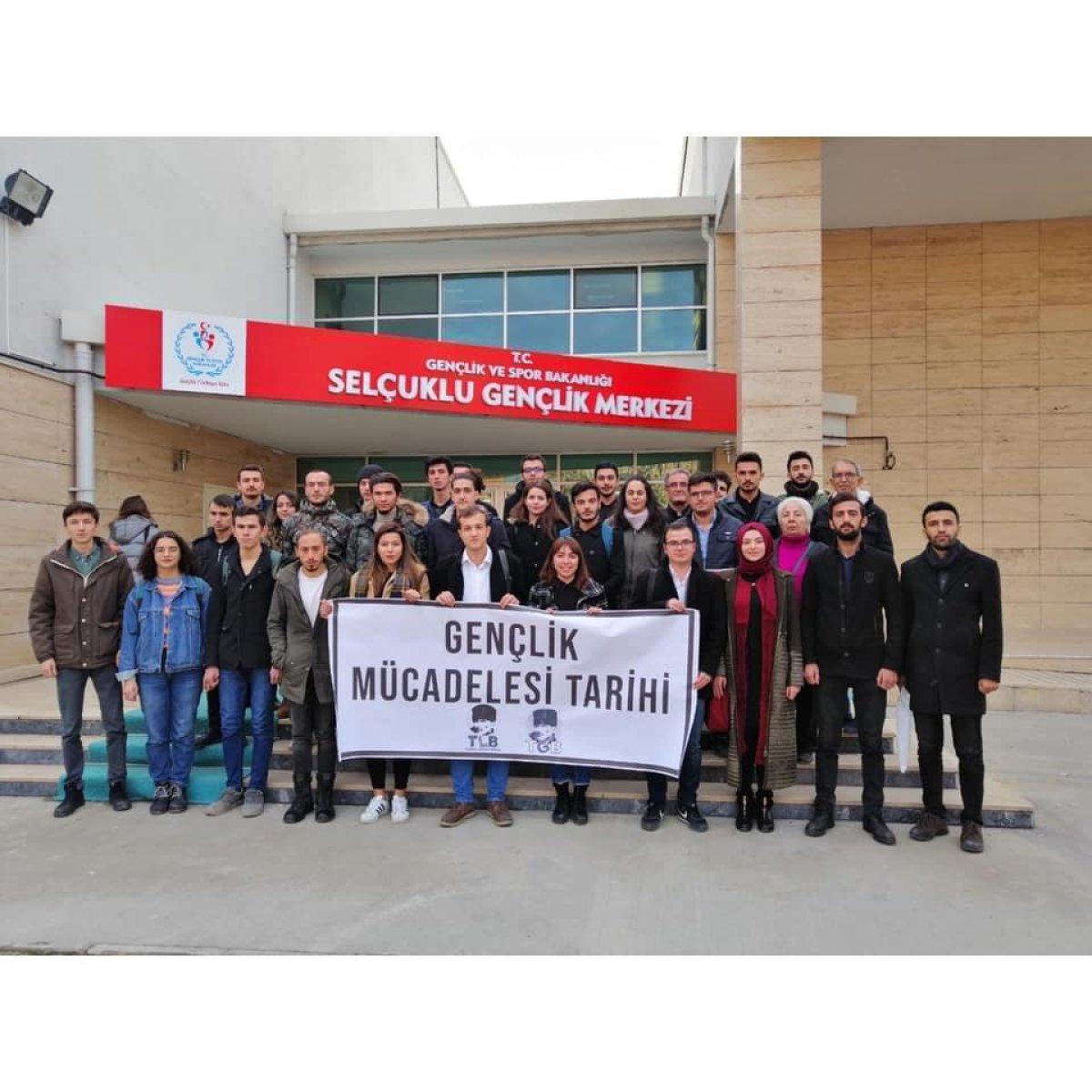 TGB Konya'dan Gençlik Mücadelesi Tarihi Eğitimi