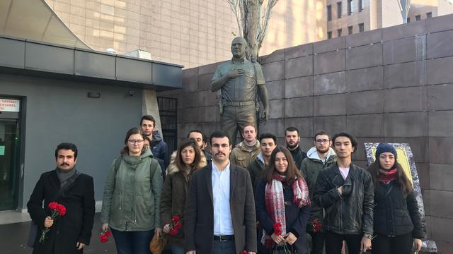 TGB İzmir Fethi Sekin'i Unutmadı