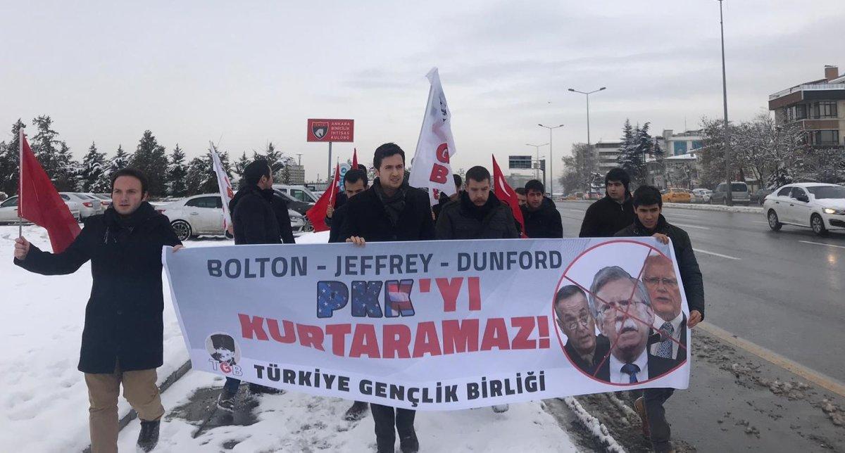 TGB'den Trump'ın Danışmanı Bolton'a Protesto