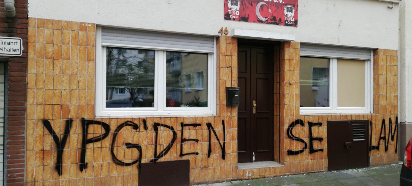 PKK'dan TGB Köln Bürosuna Saldırı