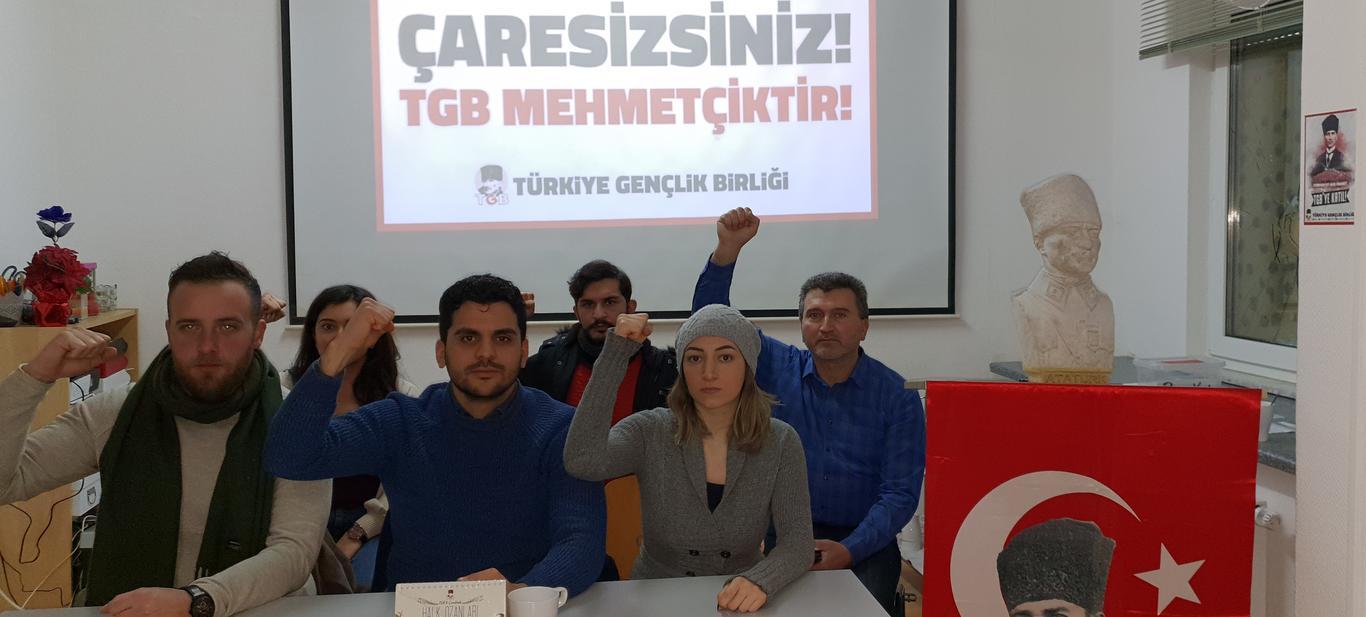 TGB Almanya'dan PKK Saldırısı Sonrası Açıklama