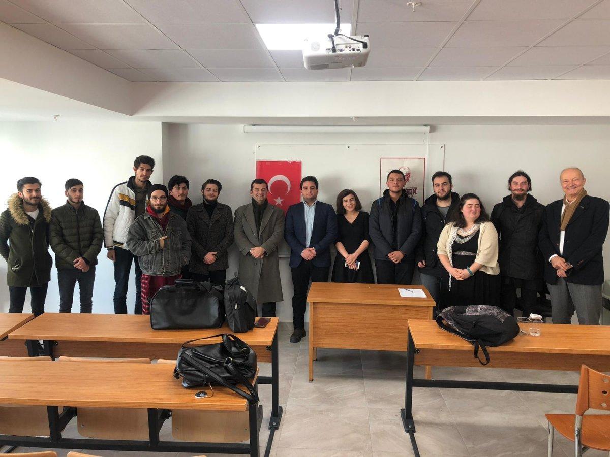 Yeni Yüzyıl Üniversitesi Öğrencileri Türkiye Ekonomisini Konuştu