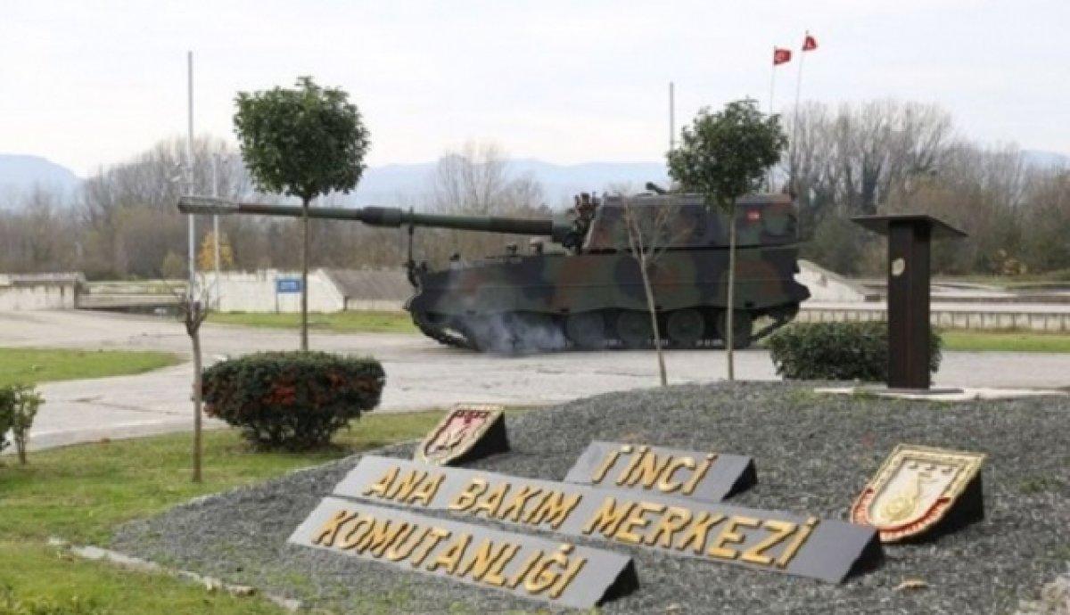 Savunma Millidir Tank Palet Milletindir