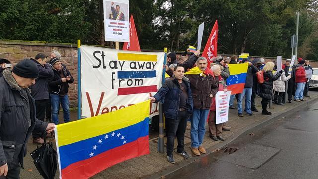 TGB Almanya'dan Venezuela'ya Destek