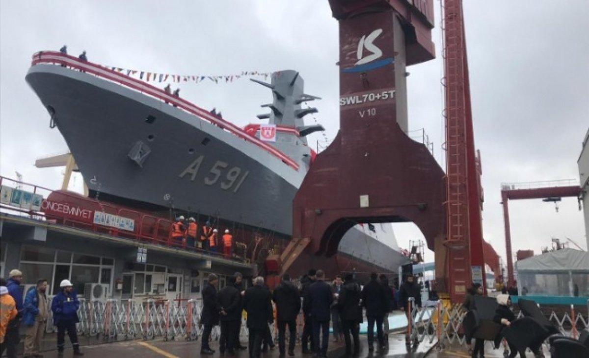 Türkiye'nin İlk İstihbarat Gemisi Sulara Açıldı