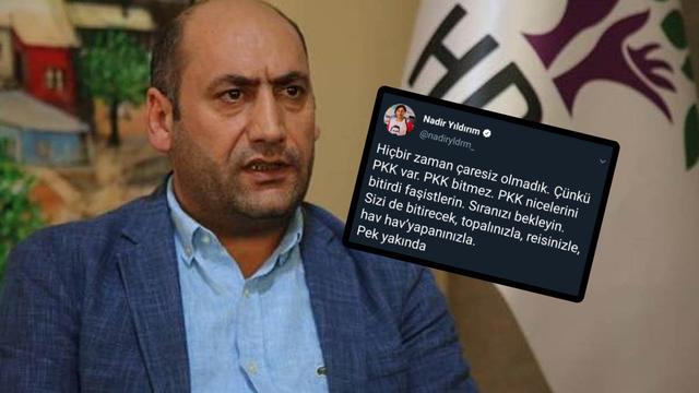 HDP'li Vekilden Alçak Tehdit: PKK Sizi De Bitirecek!