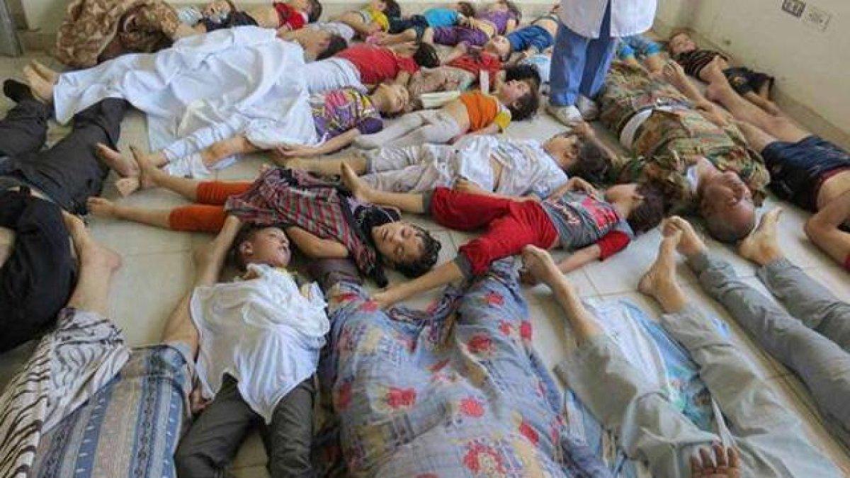 BBC: Suriye'deki Kimyasal Saldırı Görüntüleri Mizansendi