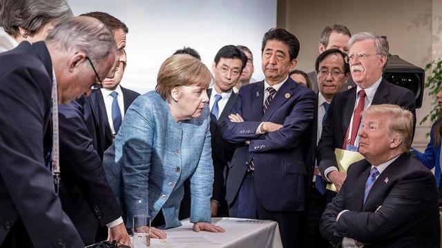 """ABD """"Çekiç Güç"""" Dedi Yine Yalnız Kaldı"""