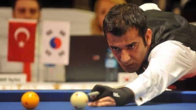 Milli Bilardocu 3 Bantta Dünya Şampiyonu