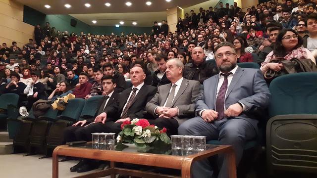 Sakarya Üniversitesi İlker Bağbuğ ile Buluştu