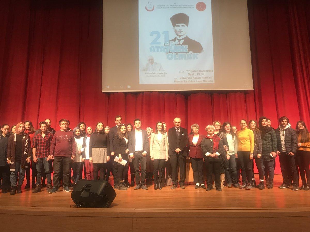 Hacı Bektaş Veli Üniversitesi'nde Atatürk Rüzgarı