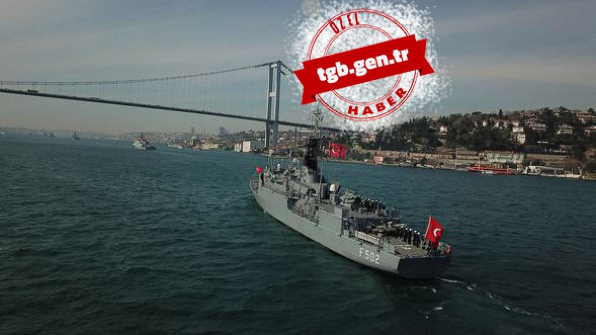 """Türk Donanması """"Mavi Vatan"""" İle Tüm Dünya'ya Mesaj Verdi!"""