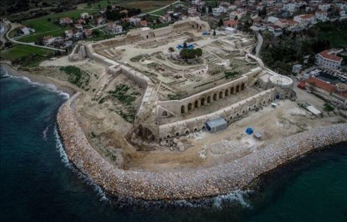 Boğaz'ı Savunan Seddülbahir Kalesi'nin Restorasyonu Tamamlanıyor