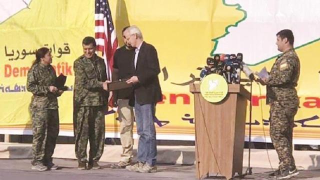 ABD'den Şahin Cilo ve Diğer PKK Elebaşlarına Plaket: Katliamı Kutladılar