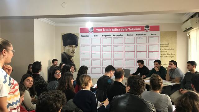TGB İzmir 19 Mayıs'ın 100. Yılı İçin Mücadele Takvimini Belirledi!