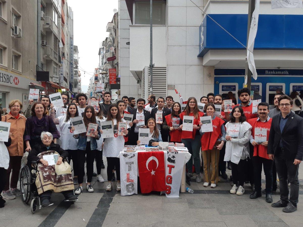 TGB İzmir, 19 Mayıs'ta Türkiye İçin Kenetlenmeye Davet Ediyor!