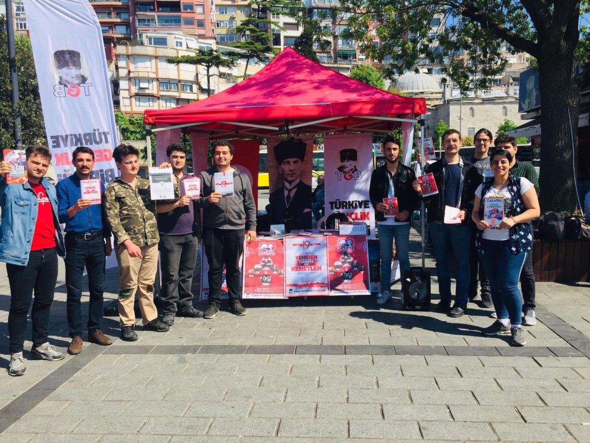 Üsküdar'da 19 Mayıs Coşkusu Devam Ediyor