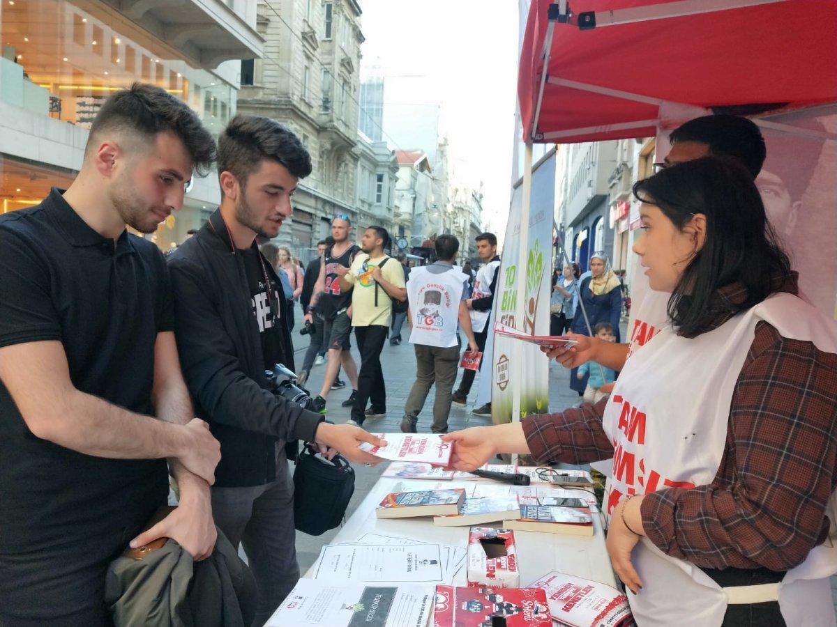 19 Mayıs Coşkusu İstanbul'un Her Yerinde-Beyoğlu