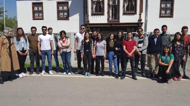 AHBVÜ ve Gazi Üniversitesi ADT üyeleri Alacagöz Karargah Müzesi'ni gezdi