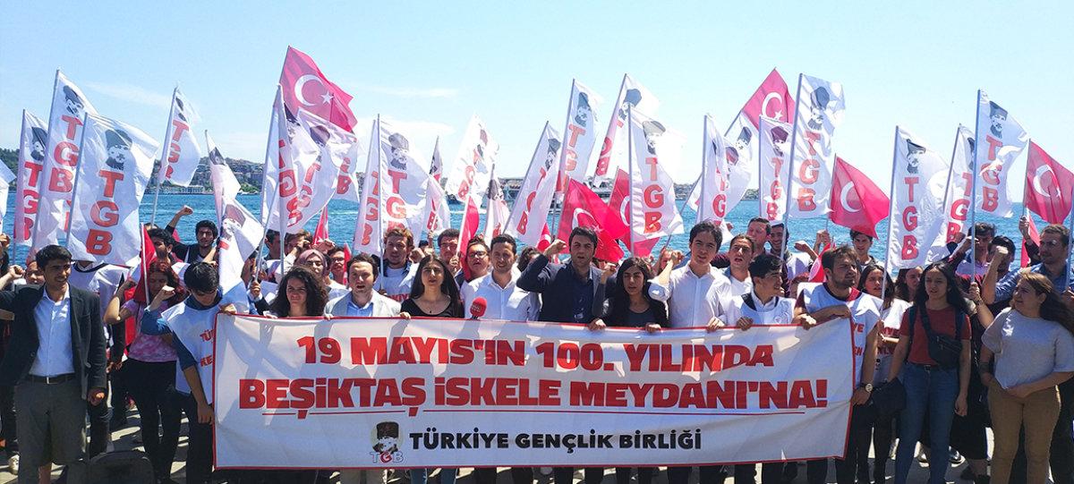 Gençlik 100 Yıl Sonra Yeniden Atatürk'te Birleşiyor