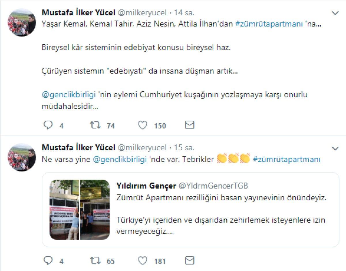 Aydınlık Gazetesi GYY ve Vatan Partisi İstanbul B. B. başkan Adayı İlker Yücel'in Destek Mesajı