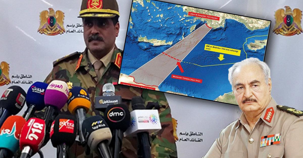 ABD'nin Libya'daki Elemanı Hafter'den Türkiye'ye Küstah Tehdit