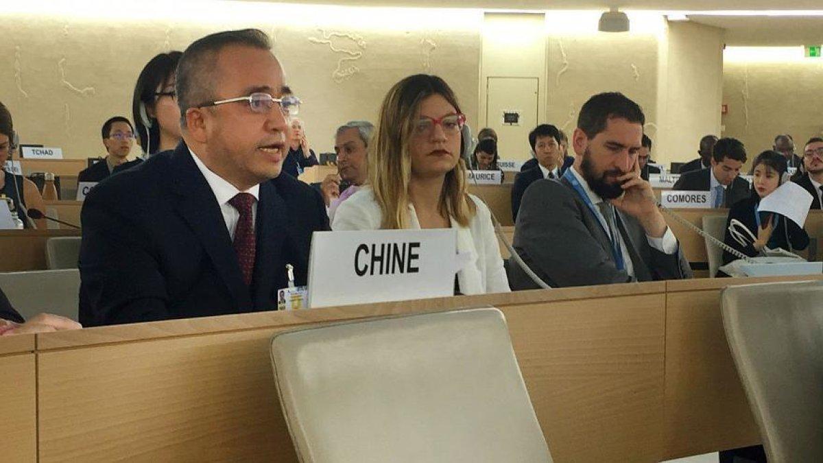 Çin'in Sinciang Halk Hükümeti Başkan Yardımcısı Erkin Tuniyaz