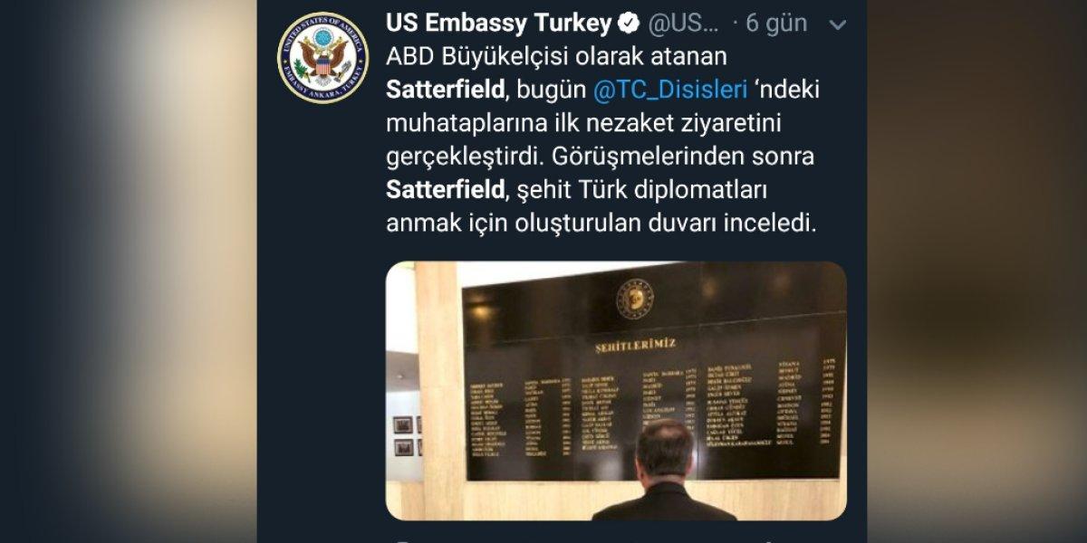 Diplomatımızın Şehit Edilmesinin Ardından Dikkat Çeken Ayrıntı