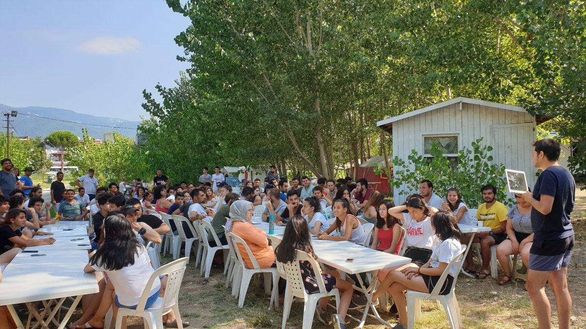 TGB Yaz Kampı Balıkesir'de Başladı