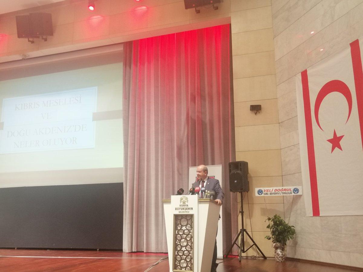 TGB, KKTC Başbakanı Ersin Tatar İle Konya'da Bir Araya Geldi