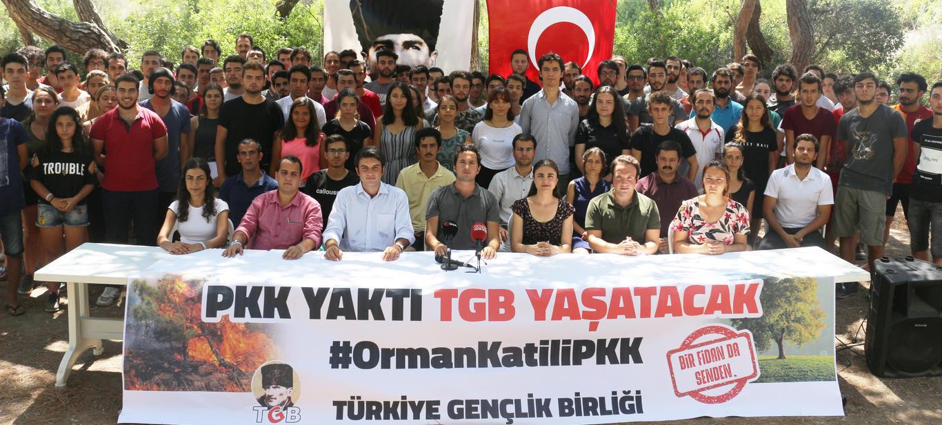 TGB'den Orman Seferberliği: PKK Yaktı TGB Yaşatacak