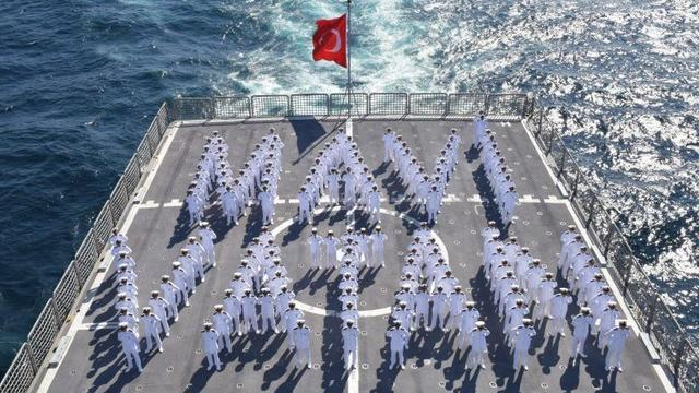 """Doğu Akdeniz'de """"Kararlılık"""" Tatbikatı"""