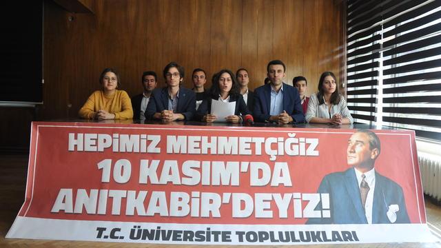 """95 Topluluktan Açıklama: """"Hepimiz Mehmetçiğiz, Atamızın İzindeyiz"""""""