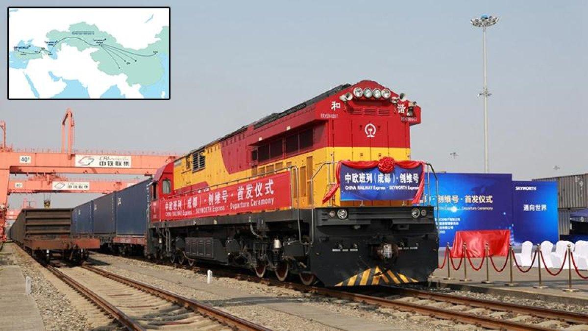 İpek Yolu'nun İlk Treni Marmaray'dan Geçiyor