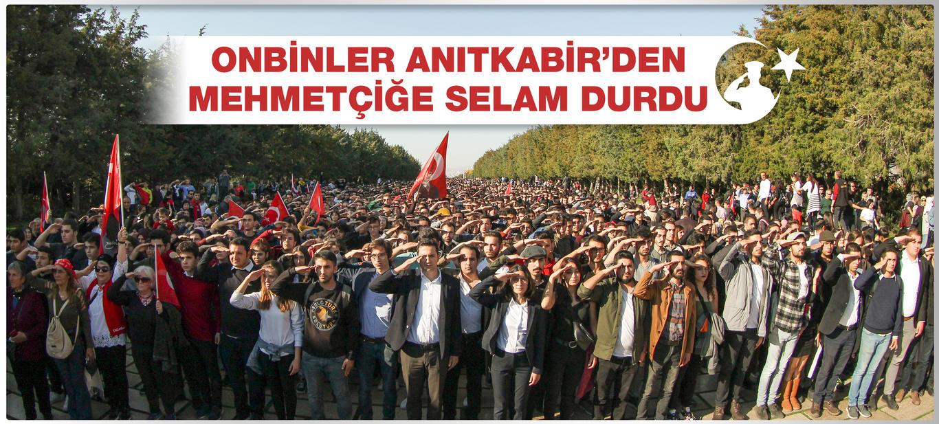 Anıtkabir'den Mehmetçiğe Selam