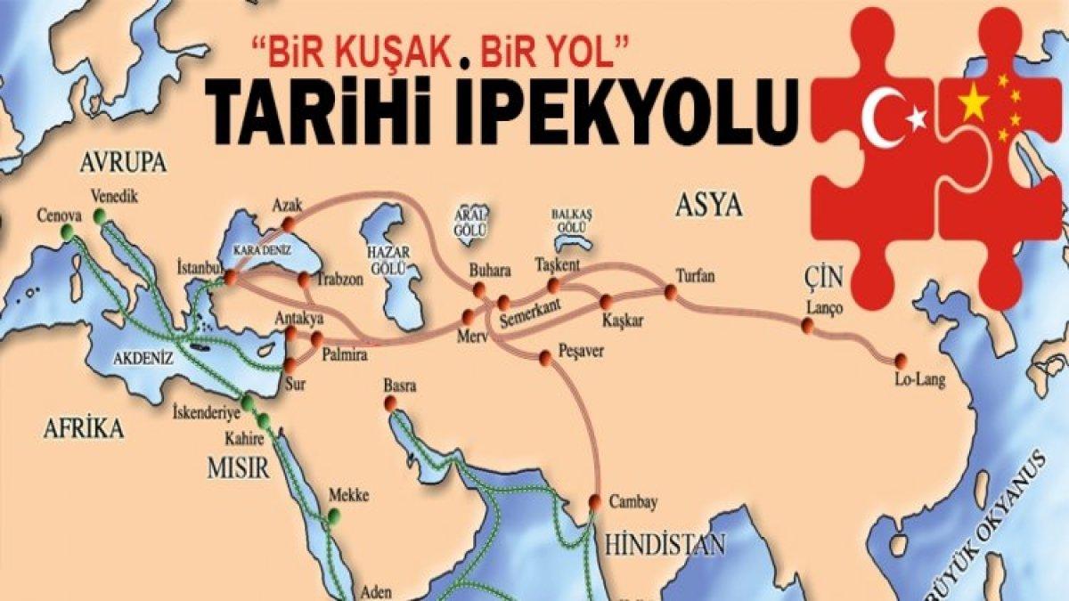 Kuşak Yol'un Yıldızı Trabzon Olacak