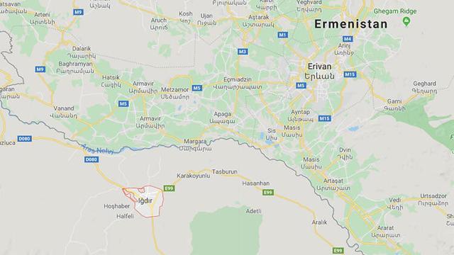 Ermenistan'dan Skandal Yayın: Iğdır'ı Topraklarına Kattı!