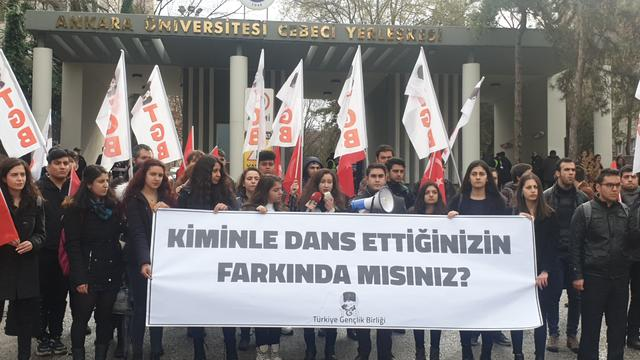 TGB Ankara Üniversitesi'nde Las Tesis'e İzin Vermedi