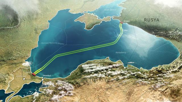 ABD Yaptırımları TürkAkımı'nı Durduramadı!