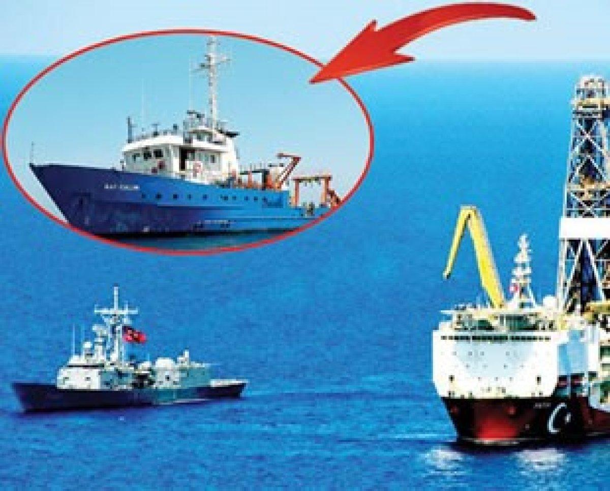 Bölgeden uzaklaştırılan İsrail Gemisi